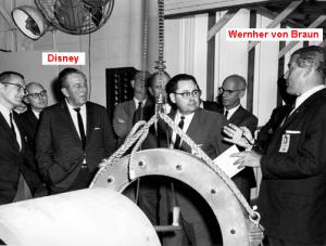 1965-Walt-Disney-bei-NASA-u-Wernher-v-Braun
